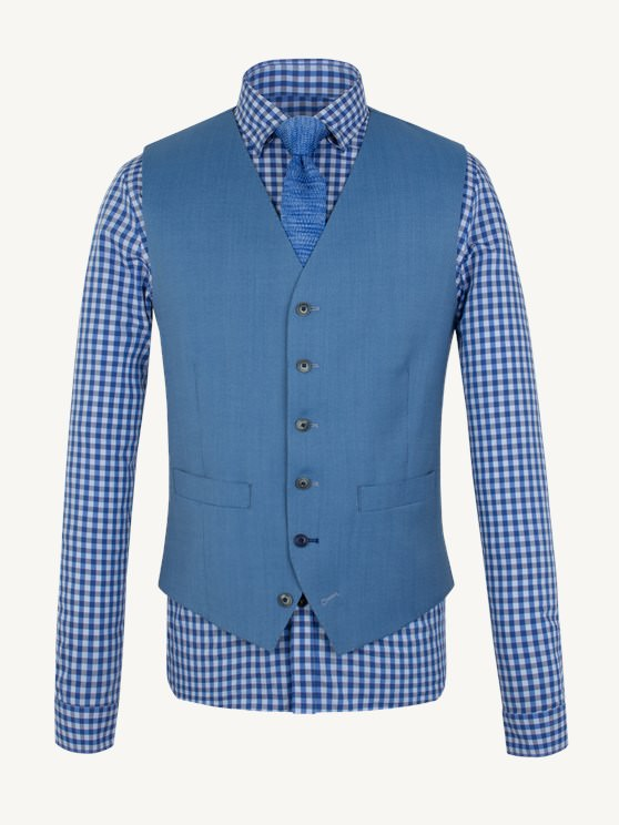 Pale Blue Waistcoat- currently unavailable