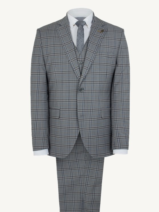 Grey Check Jacket- currently unavailable