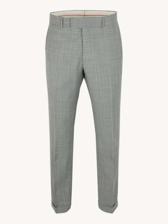 Taupe Check Suit Trousers- currently unavailable