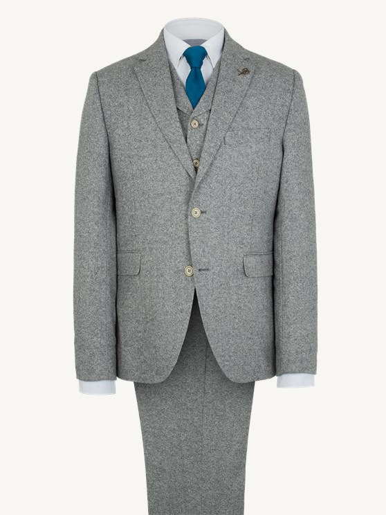 Grey Donegal Suit
