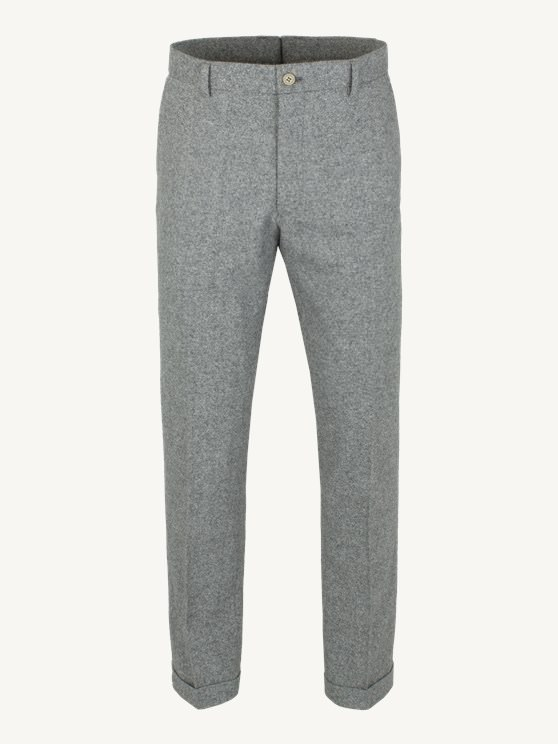 Grey Donegal Trousers- currently unavailable