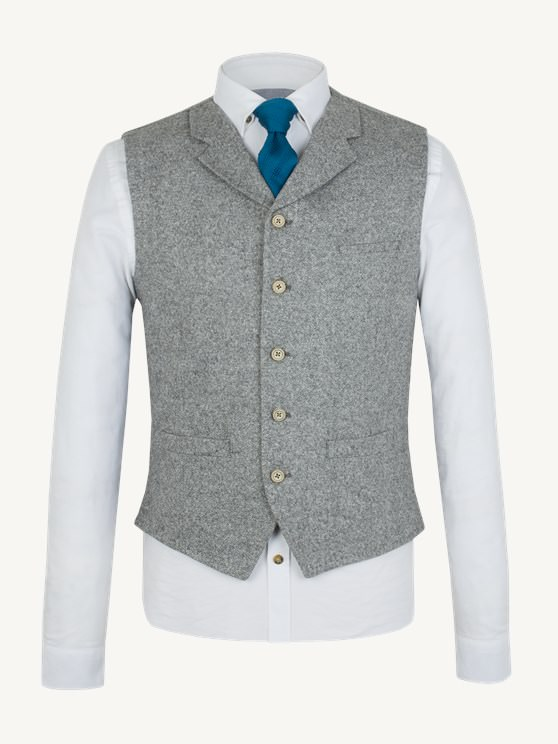 Grey Donegal Waistcoat- currently unavailable