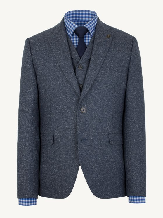 Blue Donegal Jacket