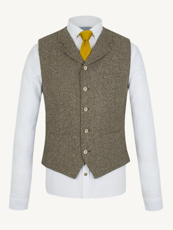 Olive Donegal Waistcoat- currently unavailable