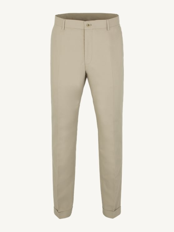 Stone Cotton Trousers- currently unavailable