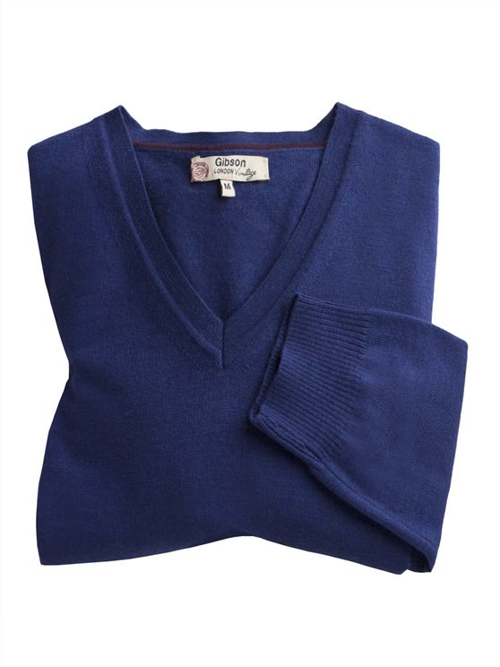 V Neck Merino Sweater