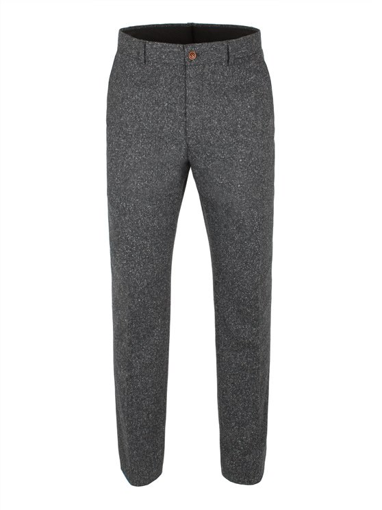 Grey Donegal Fleck Trouser