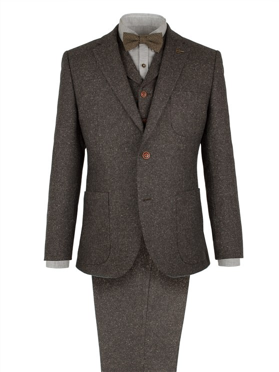 Taupe Donegal Fleck Jacket- currently unavailable