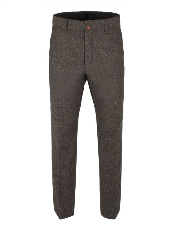 Taupe Donegal Fleck Trouser