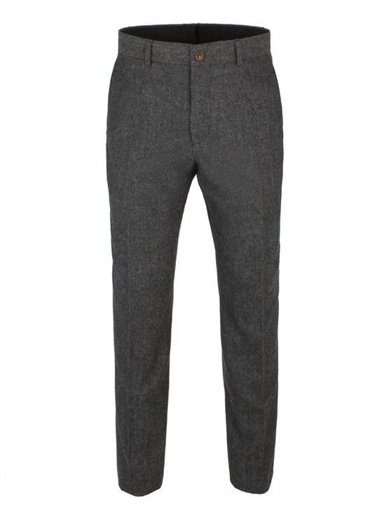 Grey Herringbone Trouser- currently unavailable