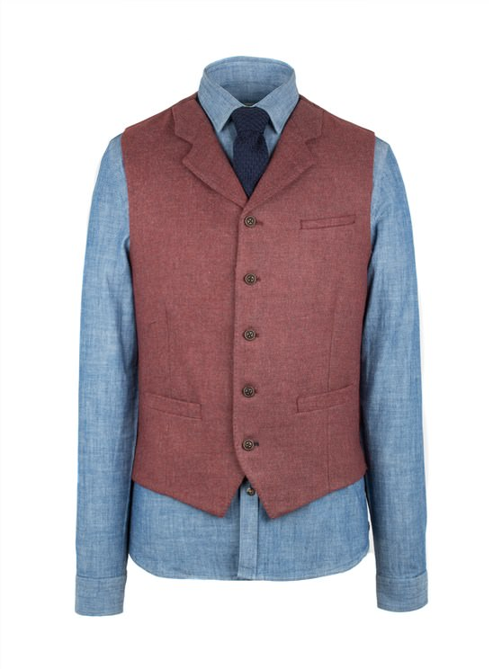 Burgundy Vest- currently unavailable