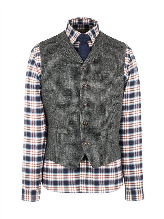 Grey Plain Vest- currently unavailable