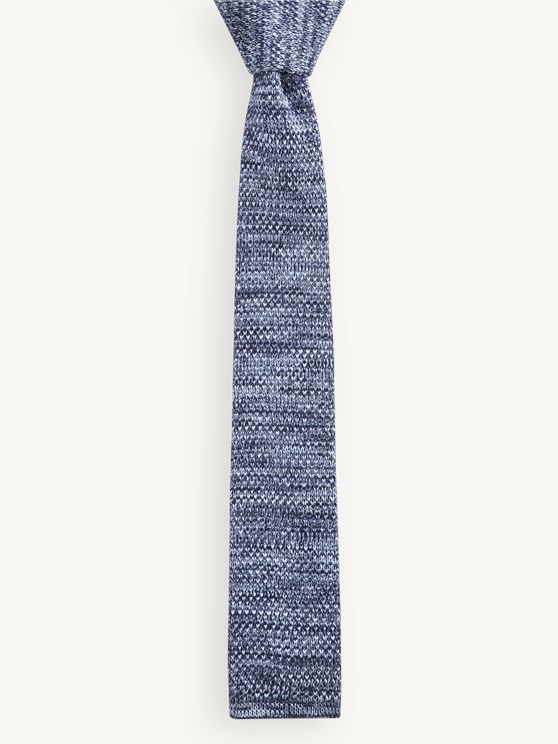 Blue Melange Tie- currently unavailable