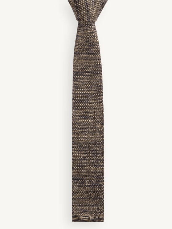 Olive Melange Tie- currently unavailable