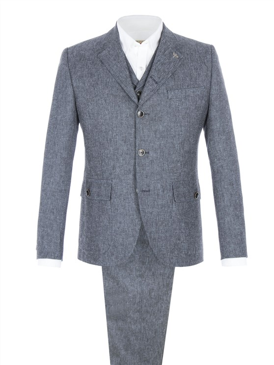 Denim Look Suit
