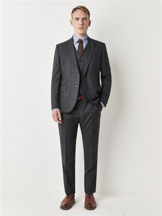 Sloane Grey Check Suit