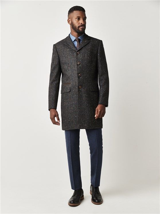 Charcoal Check Tailor Fit Winnie