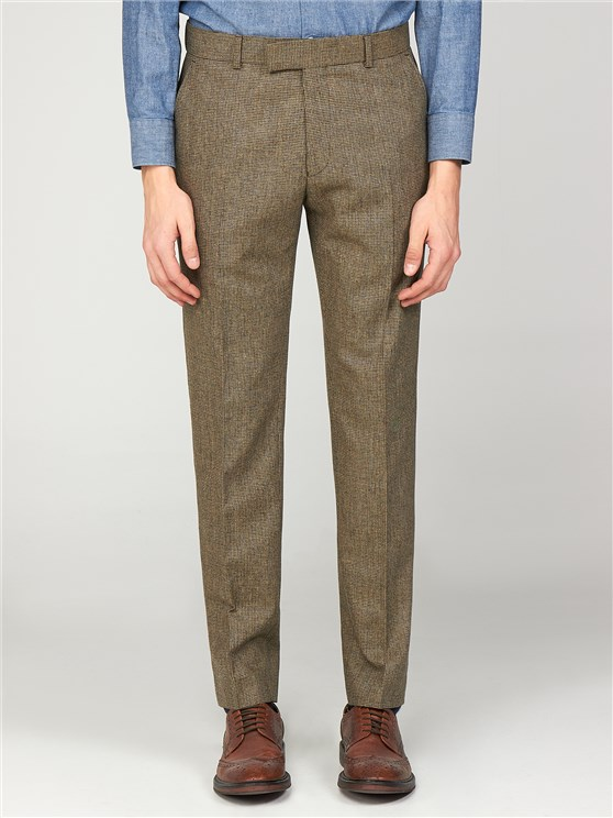 The Bakerloo Special Men's Checked Slim Fit Trousers