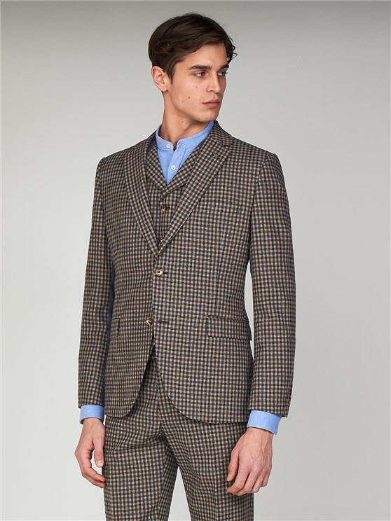 The Regent St. Men's Towergate Gingham Suit Jacket