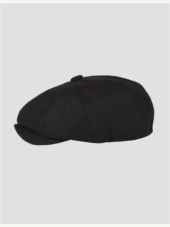 Black Melton Hat