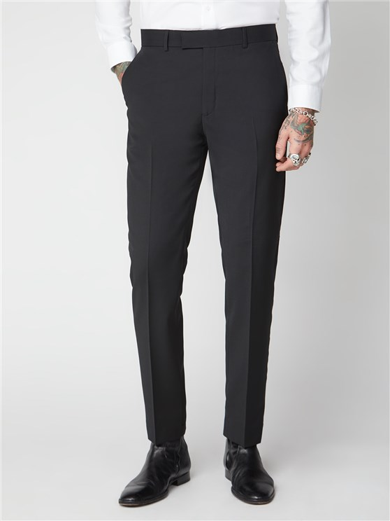 Black Panama Trouser