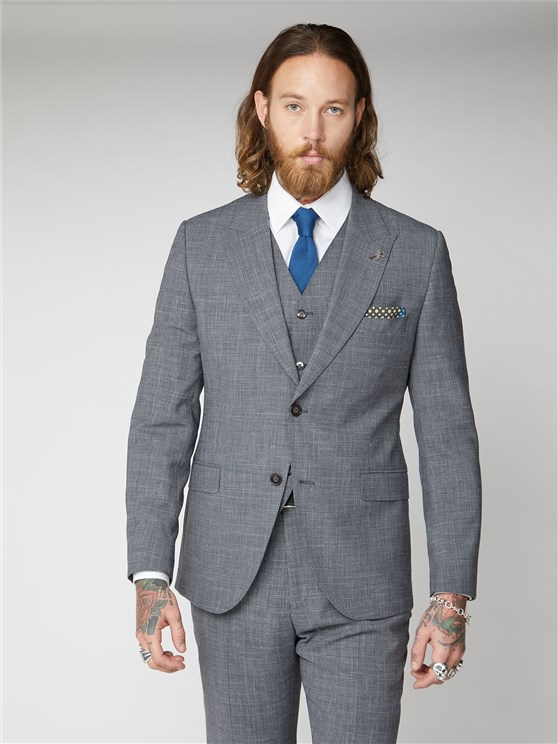 Chepstow Grey textured Jacket