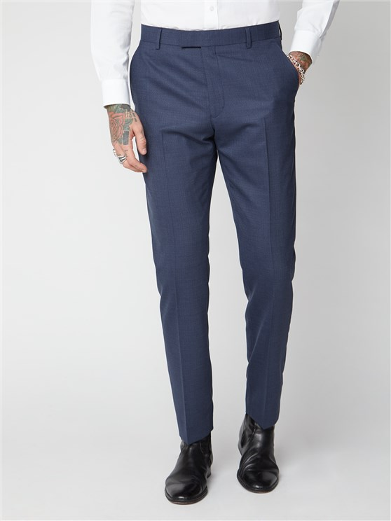 Anderson Mid Blue Suit Trousers