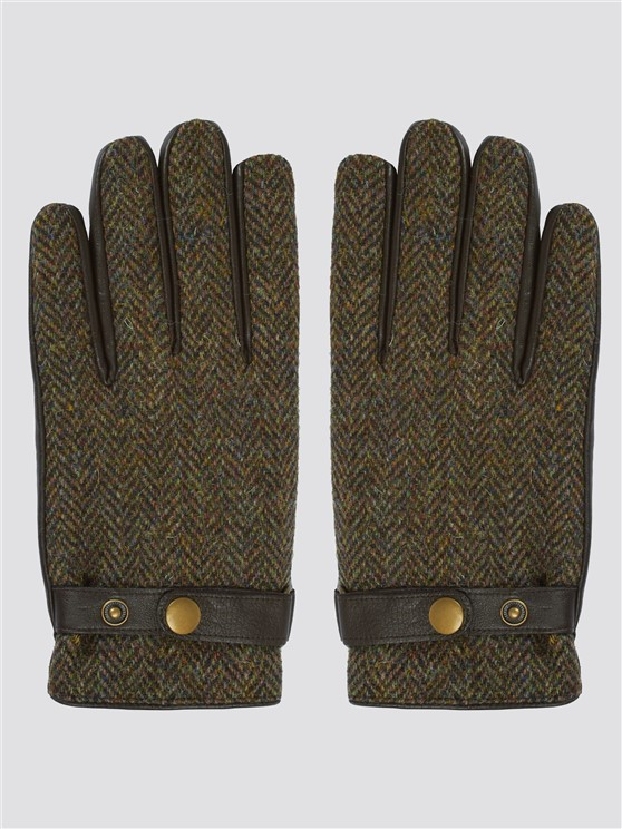 BROWN HARRIS TWEED GLOVES