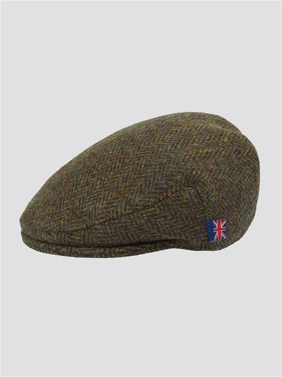 BROWN HARRIS TWEED HAT