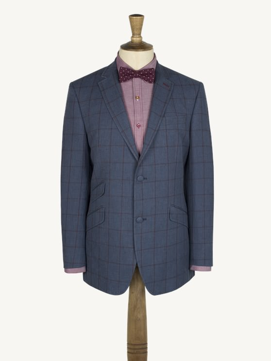 Blue Check Jacket- currently unavailable