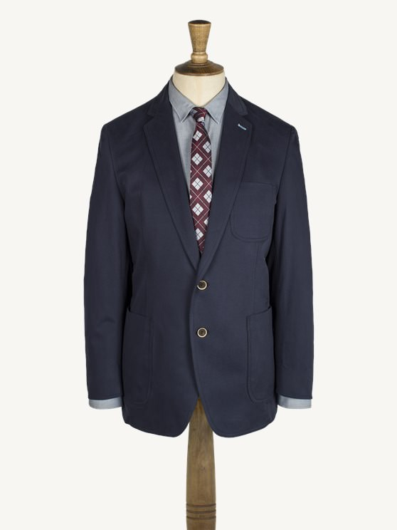Navy Cotton Jacket- currently unavailable