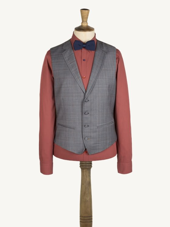 Grey Check Waistcoat- currently unavailable