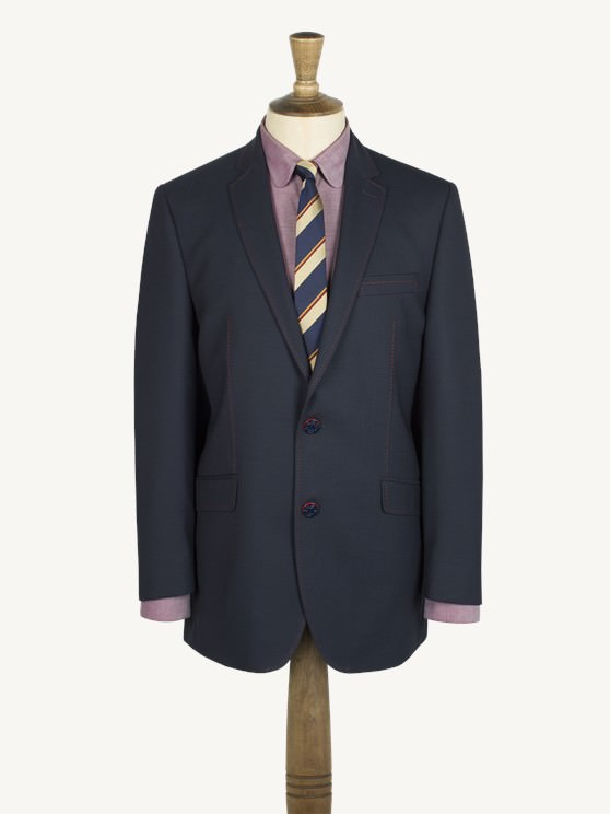 Navy Textured Jacket- currently unavailable
