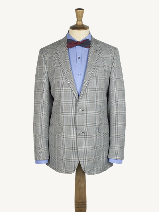 Charcoal Check Jacket- currently unavailable