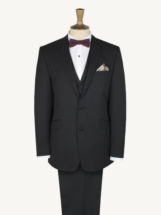 Kipling Tailored Black Twill Suit