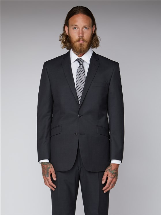 Charcoal Twill Suit