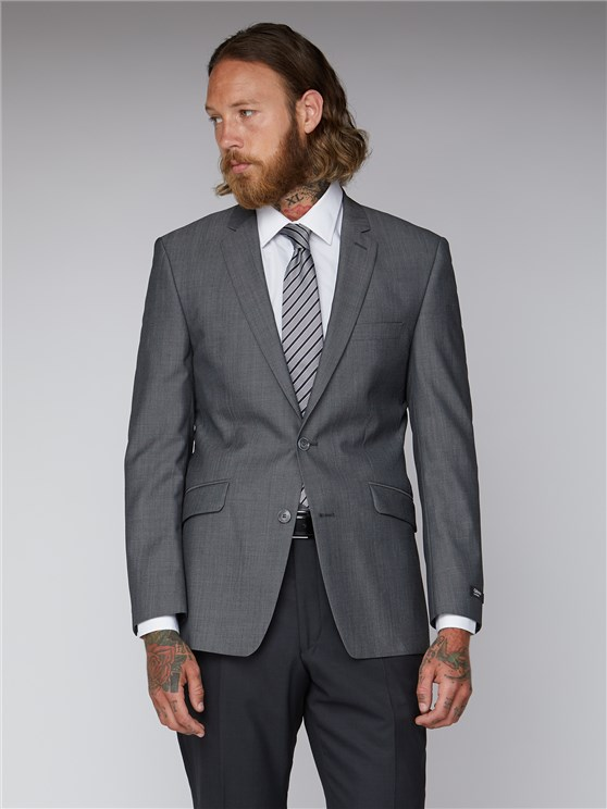 Silver Grey Twill Jacket- currently unavailable
