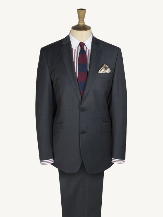 Navy Pindot Suit- currently unavailable