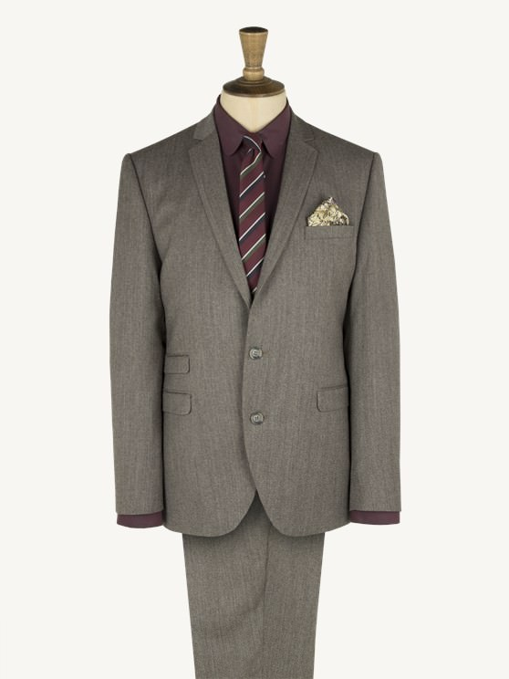 Taupe Tonic Suit- currently unavailable