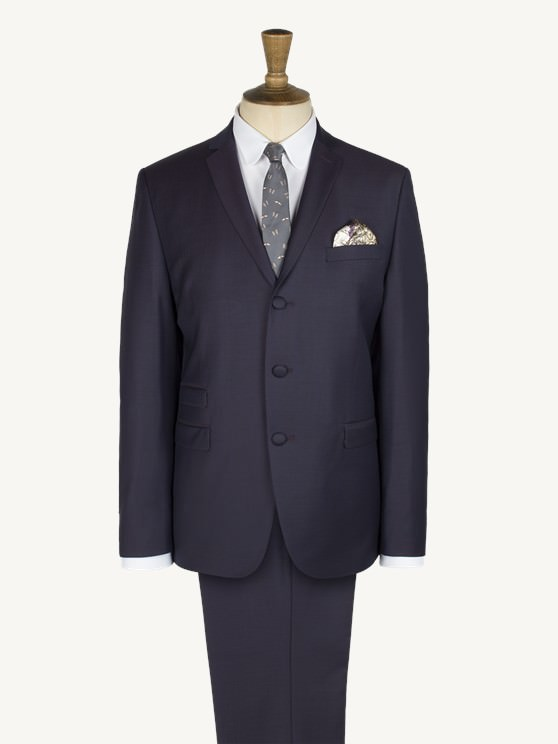 Purple Twill Suit- currently unavailable