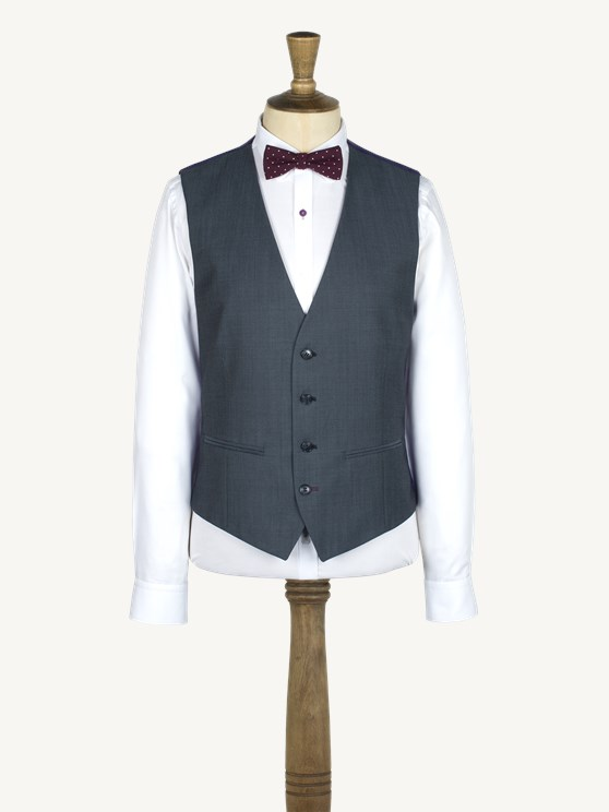 AIRFORCE BLUE WAISTCOAT- currently unavailable