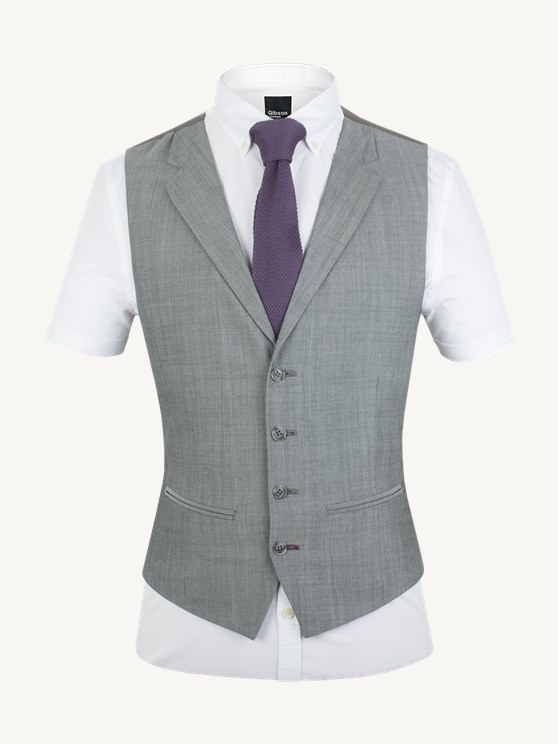 Silver Grey Suit Waistcoat- currently unavailable