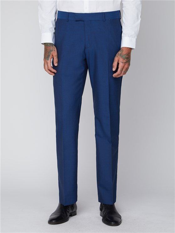 Royal Blue Suit Tailored Trouser