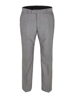 Grey Tailored Fit Trouser