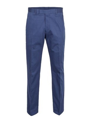 Royal Blue Cotton Trouser