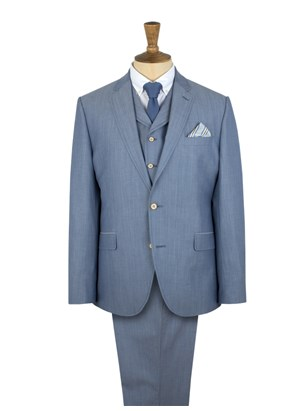 Light Blue Suit Suit