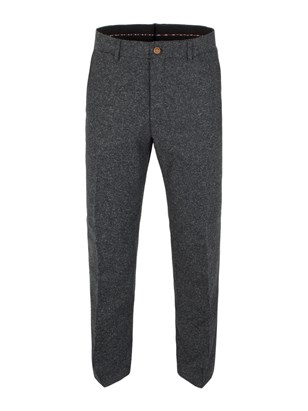 Charcoal Donegal Trousers