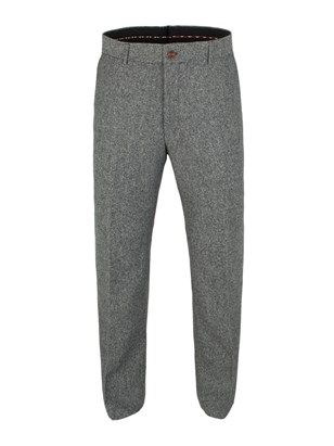 Silver Grey Donegal Trousers