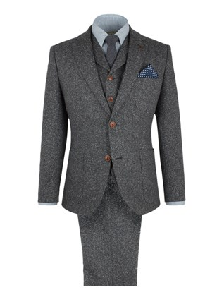 Grey Donegal Fleck Jacket
