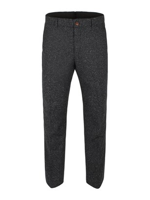 Charcoal Donegal Fleck Trouser